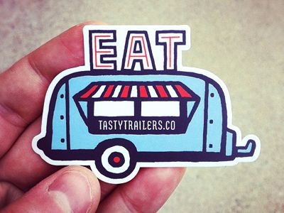 tasty trailer stickers.