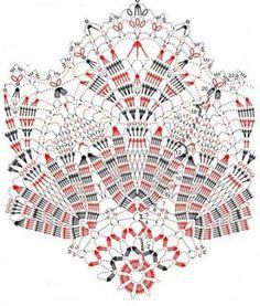 serwetki - iza1 - Picasa Web Albums #crochetdoily #crochetdiagram