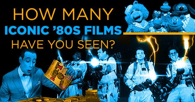 How Many Iconic '80s Films Have You Seen? You checked off 46 out of 170 on this list! OK, you've seen most of the major films! But there are still quite a few you've missed! But you're actually lucky 'cause you get to see some of these for the first time.