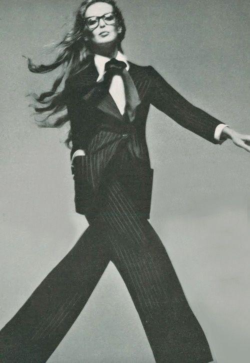 Model Samantha Jones by Richard Avedon, 1971
