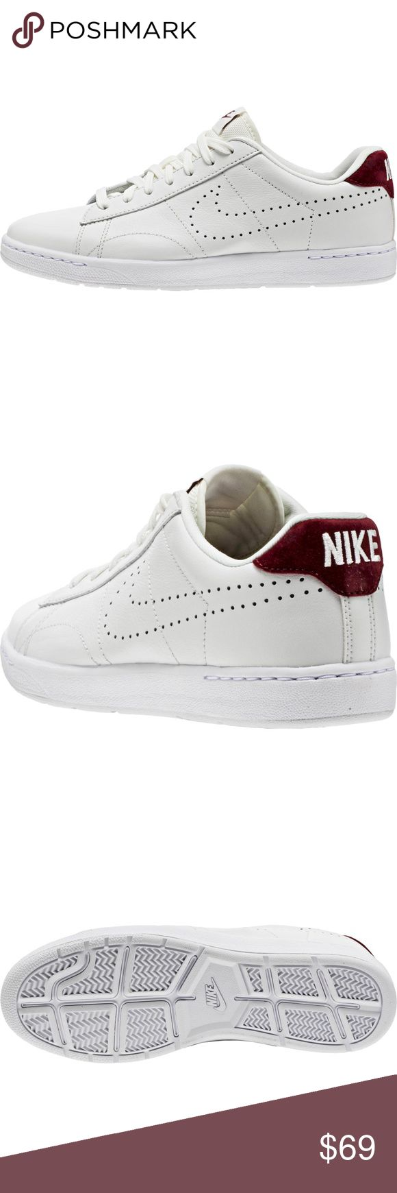 NIKE TENNIS CLASSIC ULTRA LEATHER NIKE TENNIS CLASSIC ULTRA LEATHER (MENS) - SUMMIT WHITE/TEAM RED/WHITE/SUMMIT WHITE Nike Shoes Sneakers