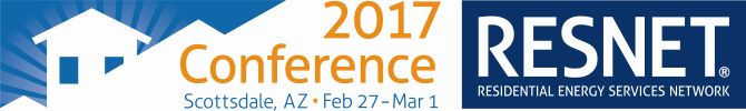 The 2017 RESNET Building Performance Conference is the premier national forum on home energy ratings, existing home retrofits, building codes and energy policy.  As Energy Consultants covering CA, NV, AZ, NM, and TX, we will be attending the convention. #CAEnergy #EnergyConsultant #HERSRater