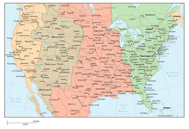 Time Zones America Pinterest Time Zones - Map us timezones
