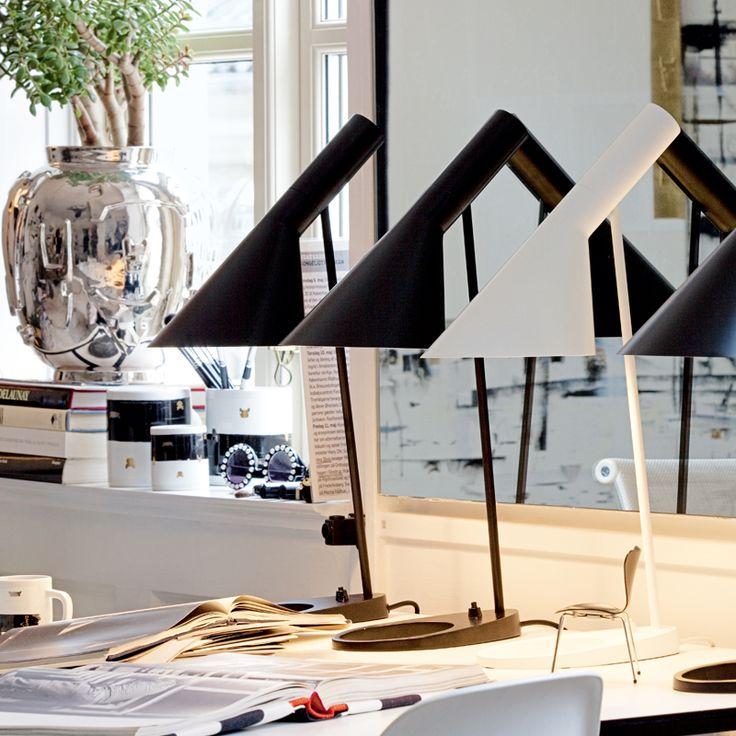 AJ Table • Danish Design by: Arne Jacobsen • Louis Poulsen.
