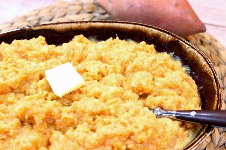 Cauliflower and Sweet Potato Mashers