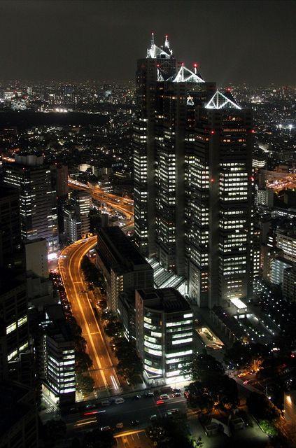 Tokyo at Night, Japan