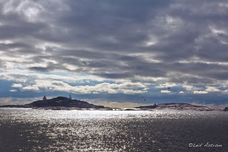 Scenic views from the Gulf of Finland