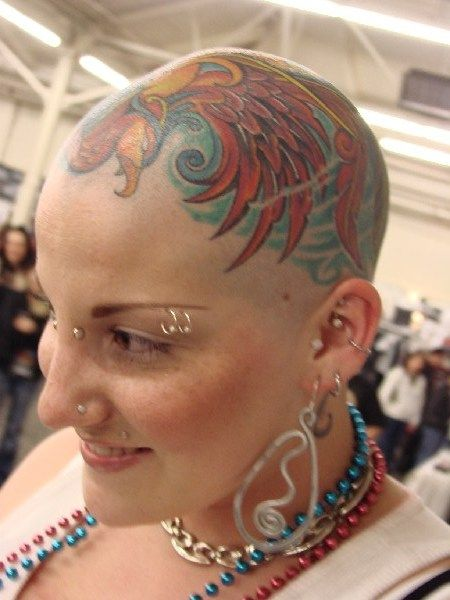 28 best images about bald women on pinterest woman hair henna and lost. Black Bedroom Furniture Sets. Home Design Ideas