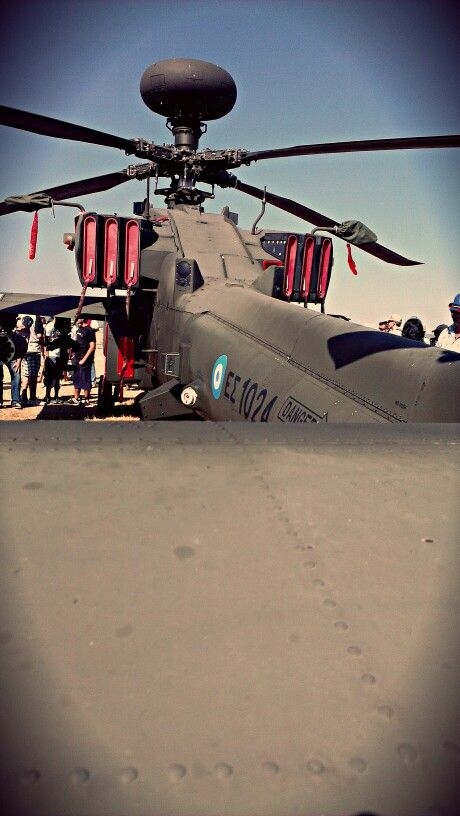 #Apache #helicopter at #AthensFlyingWeek
