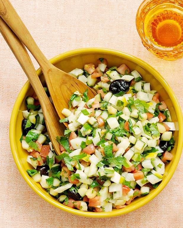 Salade marocaine pour 4 personnes - Recettes Elle à Table