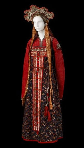 97 Best Russian Folk Costume Images On Pinterest Folk