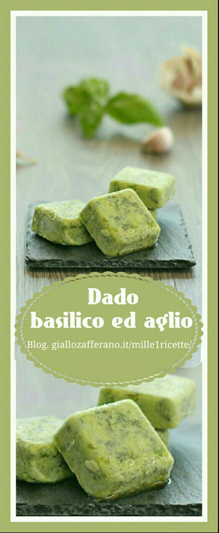 Dado basilico e aglio  http://blog.giallozafferano.it/mille1ricette/dado-basilico-ed-aglio/  Prova a fare questo dado, vedrai che ti sarà molto utile in cucina...