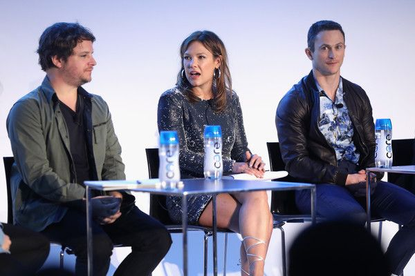 Jonathan Tucker Photos - (L-R) Byron Balasco, Kiele Sanchez, and Jonathan Tucker speak during the Kingdom panel sponsored by AT&T Audience Network during the 2017 Vulture Festival at Milk Studios on May 21, 2017 in New York City. - Vulture Festival - Milk Studios, Day 2