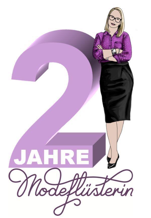 Die Modeflüsterin feiert zweijähriges Blog-Jubiläum! Machen Sie bei der Leser-Befragung mit und gewinnen Sie schöne Preise! www.modefluesterin.de