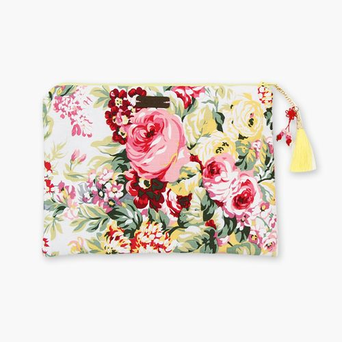 Blossom clutch bag / handmade by C.boo