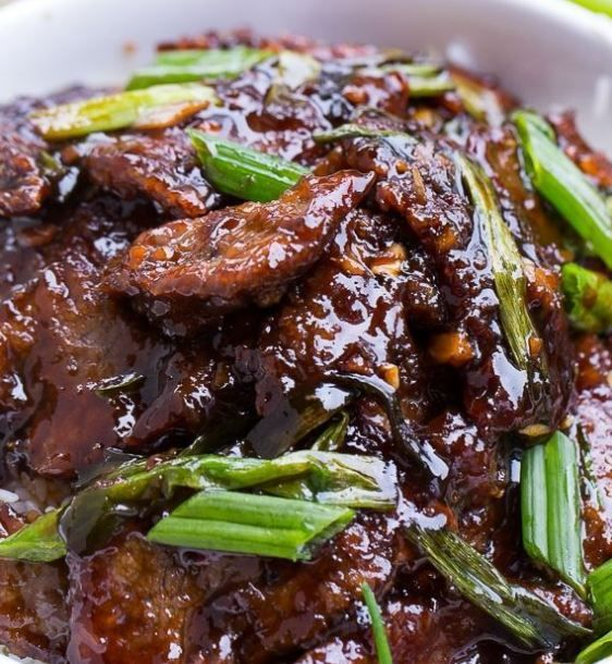 Spicy Mongolian Beef Pf Chang Style Recipe Food Mongolian