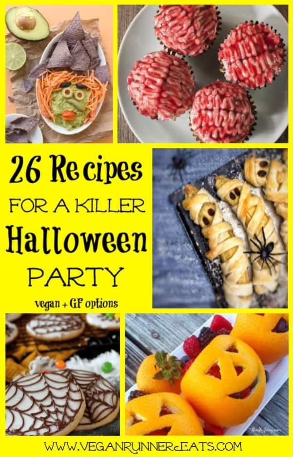 26 Vegan Halloween Treats For The Spookiest Party Ever In 2020 Vegan Halloween Food Fun Halloween Food Vegan Halloween
