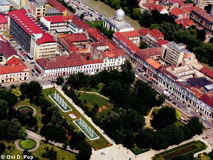 Parcul 1 Decembrie de sus | Oradea in imagini
