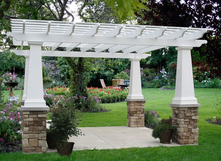 19 Best Pergolas Images On Pinterest Landscaping Outdoor Ideas And Pergola Ideas