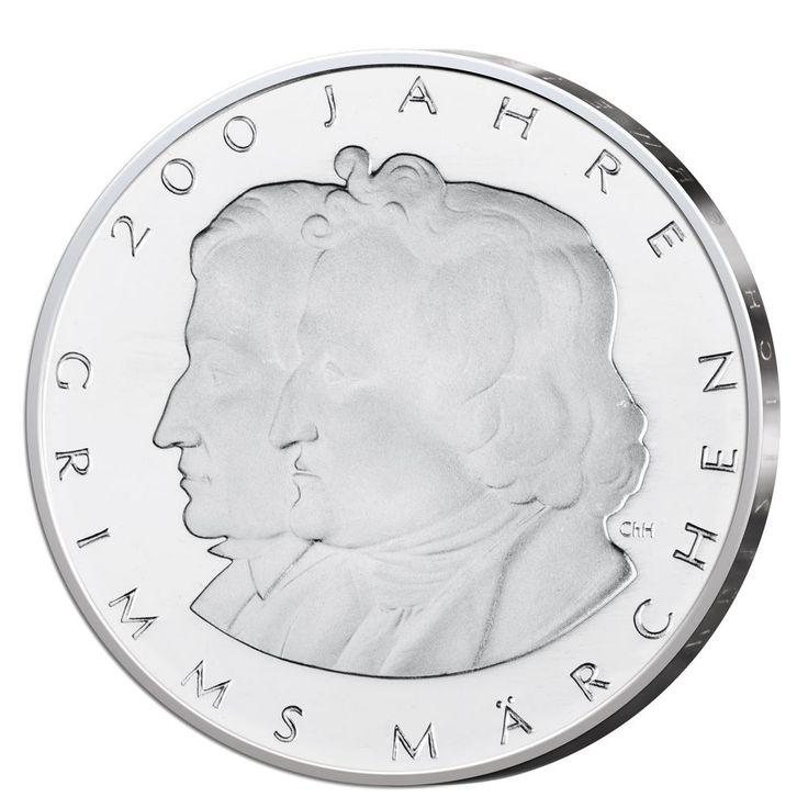 Gedenkmünze BRD 10 Euro 2012 Grimms Märchen bankfrisch in Münzen, Münzen Deutschland ab 1945, BRD Euro-Währung | eBay