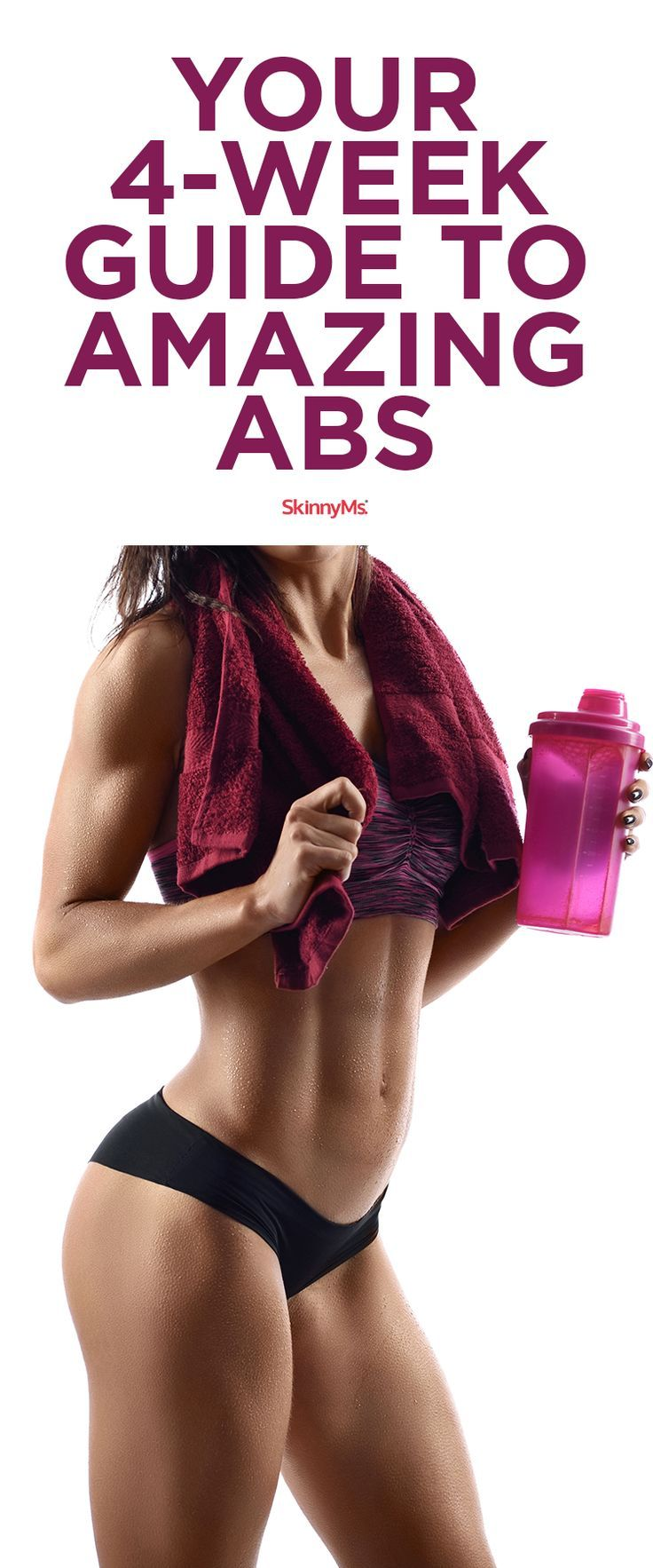 Download Your FREE 4-Week Guide to Amazing Abs today!