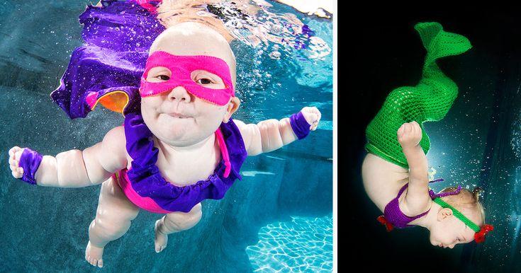 'Underwater Babies' by Seth Casteel