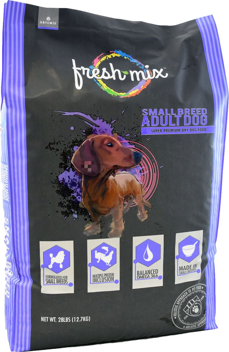 FRESH MIX SMALL BREED ADULT DOG FORMULA