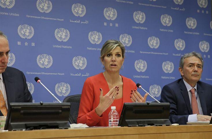 Máxima spreekt bij Verenigde Naties - Vorsten