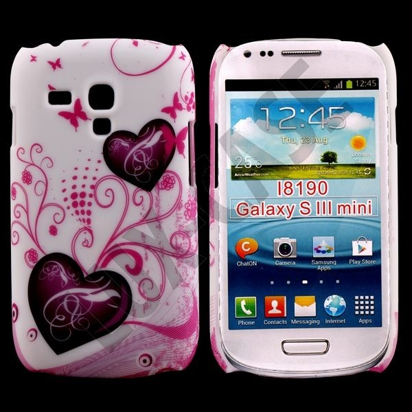 Valentine (2 Purple Hearts) Samsung Galaxy S3 Mini Deksel