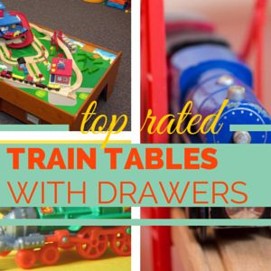 Any Of These Train Tables With Drawers Will Help You Keep All The Various  Parts And Pieces Of The Track, Controls, And Power Supplies Together And  Tidy In ...
