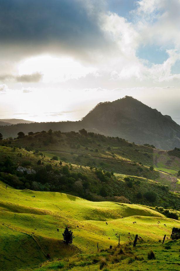 St Helena island is a beautiful island in the South Atlantic Ocean.