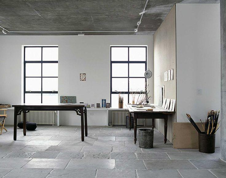 great article on artist's studios; fantastic inspiration -- Brice Marden Studio | Yellowtrace