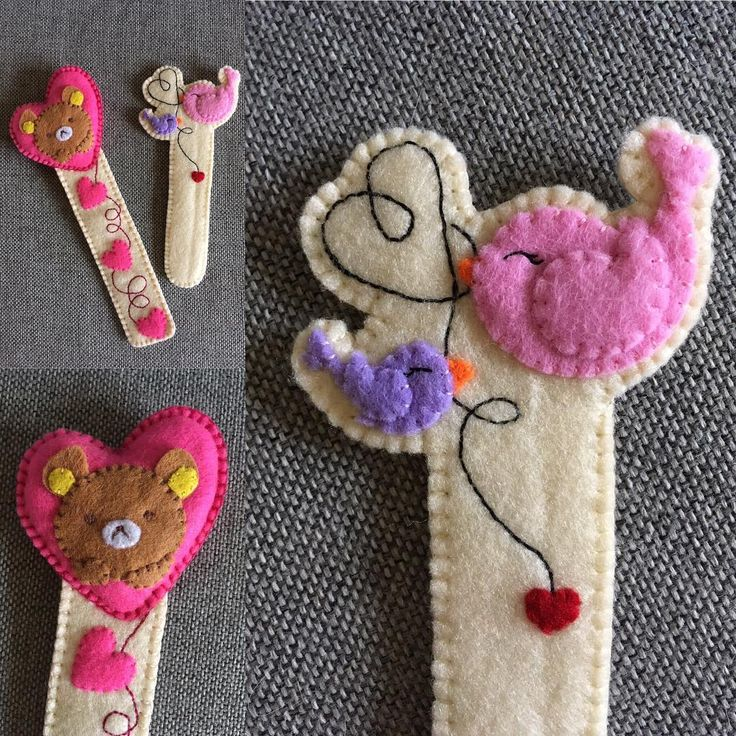 #filc #zakladka #zakladkadoksiazki #bookmark #book #kochamczytać #nasprzedaz #sprzedam #robotkireczne #handmade #design #prezent #niezchinzpasji #instacraft #bird #bear #mis #ptaszek #dladzieci