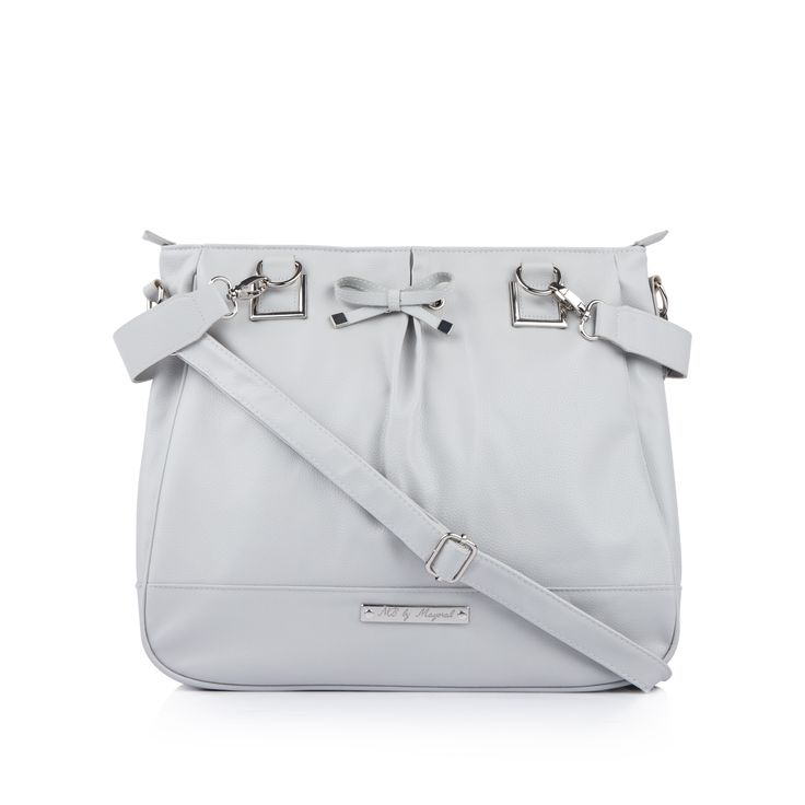 MAYORAL Baby Girls Leatherette Changing Bag - Grey Baby girls changing bag • Main zip compartment • Removable shoulder straps • Two large front pockets • Multi interior pouches • Metallic brand tag • Dimensions: 40 x 35 x 13 cmMaterial: 100% Polyurethane • Code: MULES