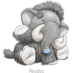 Needles... the hilarious Woolly Mammoth whose jokes will have you in stitches... stay cottoned on and you'll have a ball!