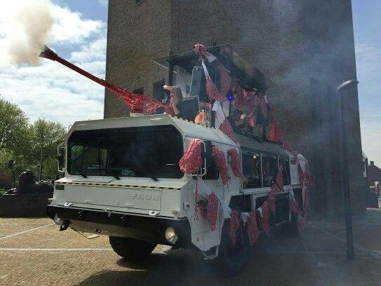 Red dress run promotie tour Emmeloord