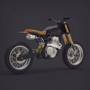 "989 Likes, 8 Comments - BikeBound (@bikeboundblog) on Instagram: ""So Rad: #NX650 Vintage Edition by @dab_design_, inspired by the original Honda Dominator.…"""