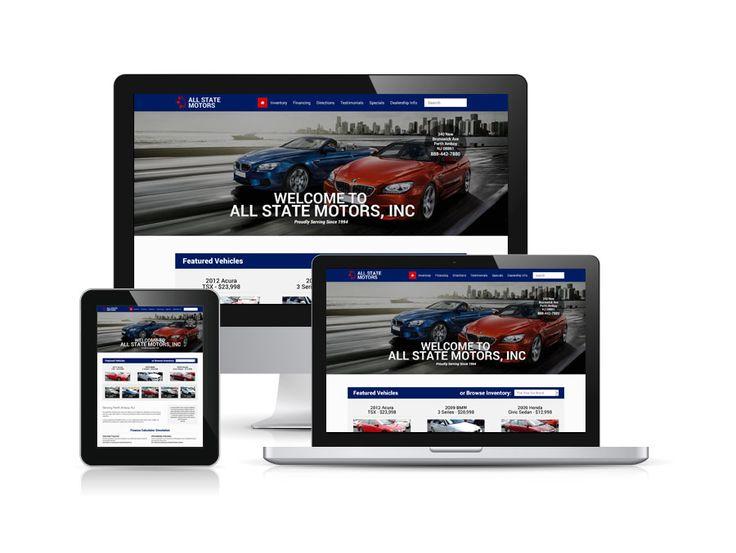 All State Motors adalah sebuah perusahaan yang bergerak dalam bidang otomotif dan penjualan mobil. Web All State Motors dibuat sebagai sarana dan sumber informasi tentang perusahaan All State Motors.