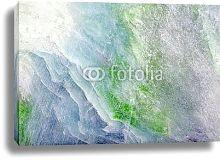 Постер Сине-зеленый камень чароит