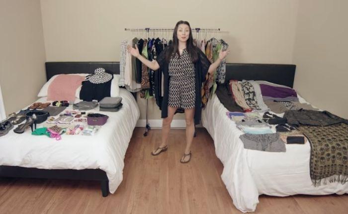 Как упаковать 100 вещей в один чемодан http://kleinburd.ru/news/kak-upakovat-100-veshhej-v-odin-chemodan/