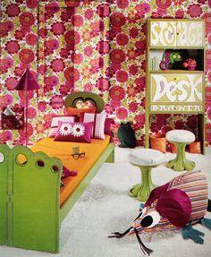 ~1970s Bedroom #delightfull #interiordesign #luxury #decoration #decor #furniture #lighting #lamps #mid-century #architecture #Architects #design #inspiration #ideas