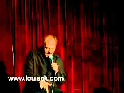 the first 5 minutes are funny . . .then he goes into weird shit Louis CK - being broke - YouTube