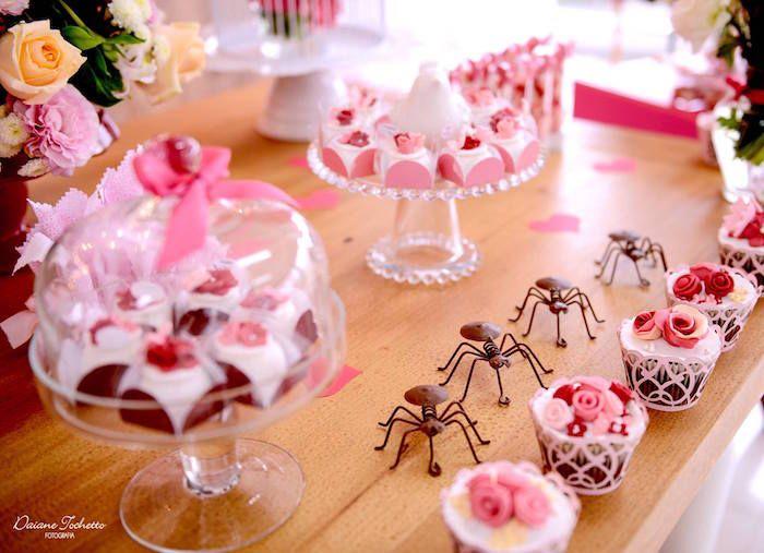 Desserts & decor from a Butterfly Garden Party on Kara's Party Ideas | KarasPartyIdeas.com (15)