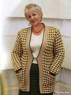 Кто сказал ,что полным нельзя носить вязаную одежду?