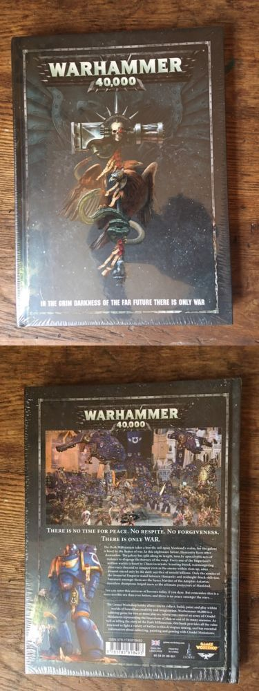 40K Rulebooks and Publications 90944: Warhammer 40K 8Th Edition Rulebook Sealed -> BUY IT NOW ONLY: $34 on eBay!