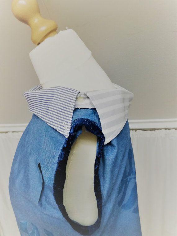 Upcycled men shirt, Upcycled clothing, Mevrouw Hartman, repurposed Menshirt, Fresh Design, Sleeveless shirt, Womens shirt, womens blouse, Womens top, https://www.etsy.com/shop/MevrouwHartman  http://www.mevrouwhartman.nl/