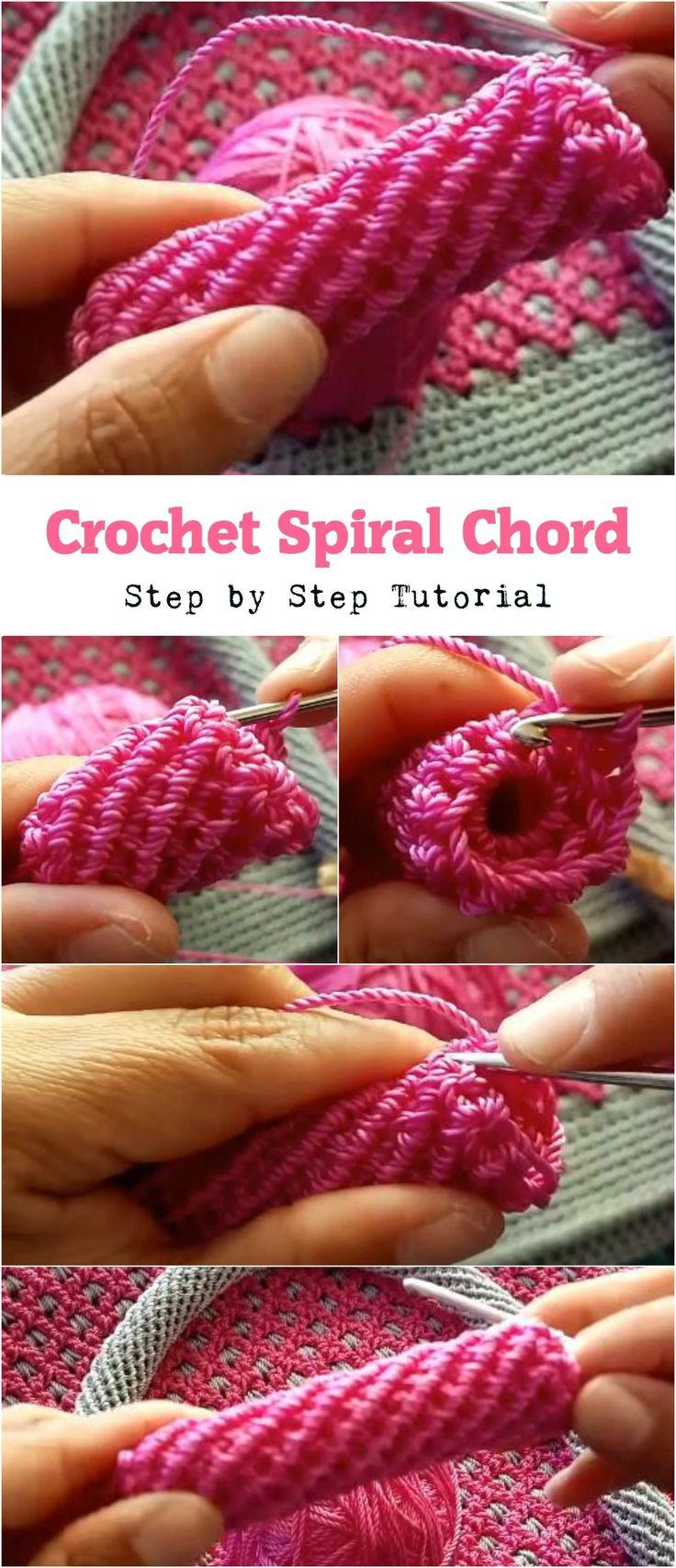 Crochet Spiral Chord