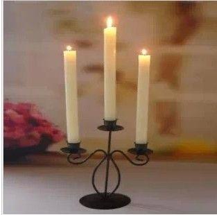 Мода tieyi мусс стойки старинные романтический мусс железный стержень свечи стол