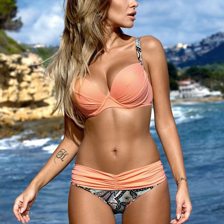 Swimwear Women Bikini 2017 Swimsuit Plus Size Bikini Set Low Waist Bikinis Women's Swimming Suit biquini maillot de bain femme
