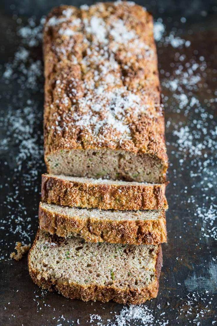 Glutenvrij kokos en courgette brood | simoneskitchen.nl